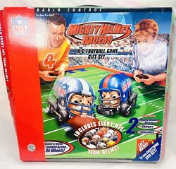Nfl Mighty Helmet Racers Radio Control Rc Football Game-not Tested-complete Set