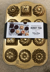 Nordic Warecharms Bundt Pan1.2 Cup Capacity Gold Made In Usa