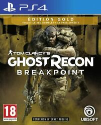 Ghost Recon Breakpoint - Edition Gold Ps4 Neuf Version Franandccedilaise Envoi Suivi