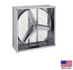 Agricultural Exhaust Fan - Direct Drive - 48 - 1 Hp - 230/460v - 18,620 Cfm