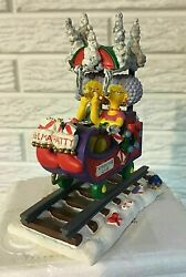 The Simpsons The Smoking Car Christmas Express Train Collection - Sealed