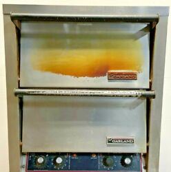 """Garland Double Deck 26"""" Commercial Electric Pizza Oven Cpo-ed-24h 240v 1-3ph E5a"""