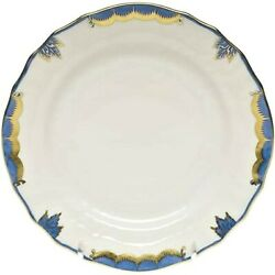 Herend Princess Victoria Blue Dinner Plate 10 1/2 Bgnb 1524 Brand New With Tags