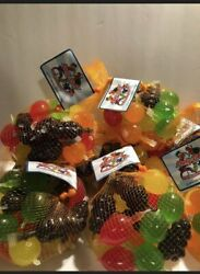 Tik Tok Candy Dely Gely Fruit Jelly Tiktok 5 Count Blowout Sale