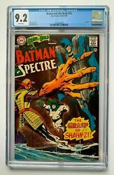 Brave And The Bold 75, Dc Comics, Cgc 9.2, Batman And Spectre, Neal Adams Cover