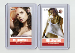 Elizabeth Banks Rare Mh Mellowing And039d 2/3 Tobacco Card No. 211