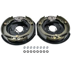 Driver Passenger Side 12 X 2 Electric Trailer Brake Assembly For 7000 Lbs Axle
