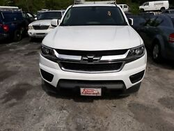 2015 Chevrolet Colorado Extended Cab Truck Bed White