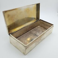 And Co. Makers Sterling Silver 23093 Money Treasure Jewelry Large Box
