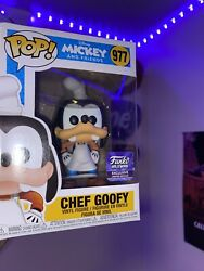 Funko Pop Disney Mickey And Friends Hollywood Store Exclusive - Chef Goofy 977