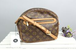 Auth Louis Vuitton Senlis Cross Body Shoulder Bag Purse Monogram