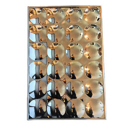 Mid Century Modern Chromed 24 Bubble Mirror 24andrdquo X 36andrdquo Turner Style Op Art Wall
