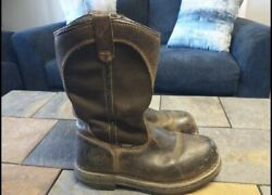 Red Wing Irish Setter Steel Toe Pull On Work Boots 8 / 8.5