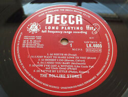 The Rolling Stones - S/t // Orig Uk And03964 Decca Lp 2a/1a Short Tell Me Ex Copy