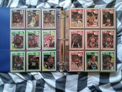 1989 Fleer Basketball Cards Complete Set 179 Cards In Good Condition
