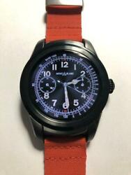 Summit 46mm Ip68 Smart Watch Red Rubber Strap With Box Usb Cable