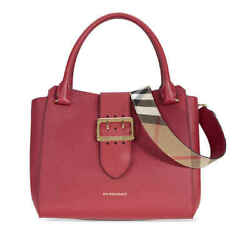 The Medium Buckle Tote - Parade Red 4029020