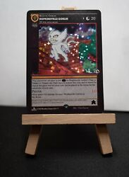Metazoo - Sample Hopkinsville Goblin Holo Card - Signed By Victor Larson 1 Of 3