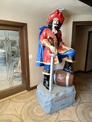Rare Captain Morgan Lifesize Statue 94 Tall First Ones Made
