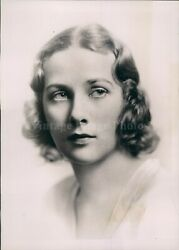 1937 Photo Miss Dorothy Fell Mills Daughter Engagement Ny Beautiful Woman
