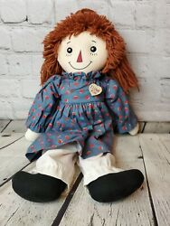 Primitive Raggedy Ann Doll With Joni Gruelle Signature From 2009 18 Applause