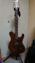 Dragonfly Border 666 Natural Electric Guitar S/n X18043s Shipped From Japan