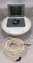 Raymarine C120 And Rd424 4kw 24and039and039 Radar Package With Cables