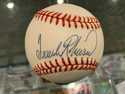 Frank Robinson Reds Dodgers Orioles Single Signed Baseball Jsa Authenticated