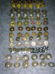 New Mixed Large Lot Vintage Antique Collectible Buttonsandnbsp