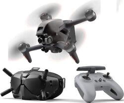 Dji Fpv Combo First-person View Drone Uav Quadcopter With 4k Camera, Sealed Box