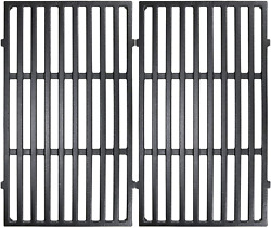 Bbq Cast Iron Grill Cooking Grates 17.5 2-pack For Weber Spirit E310 S310 7638