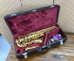 Yamaha Yas-62 Ⅱ Alto Saxophone Made In Japan With Hard Case And Selmer Mouthpiece
