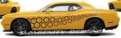 Decals Graphics For Challenger Mopar 392 Scat Pack Honeycomb Trail