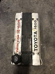 4age Valve Cover - Hidden Spark Plug Wires - Small Port - Ae92 Gts