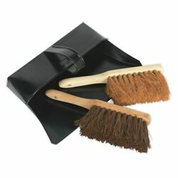 Sealey Dustpan And Brushes Metal Bm26