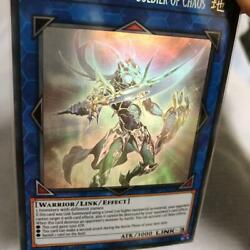 Yu-gi-oh Card Black Luster Soldierーsoldier Of Chaos Eu Ver. 1st Edition [mint]