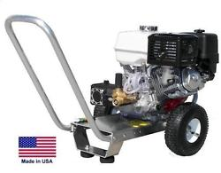 Pressure Washer Portable - Cold Water - 3 Gpm - 3200 Psi - 9 Hp Subaru Eng Ar