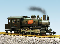 Usa Trains G Scale R20066 Dockside 0-6-0t Steam Locomotive Canadian National 53