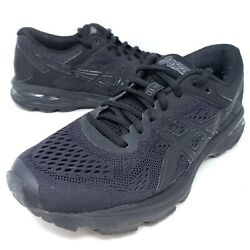 Asics Gt 1000 Womenand039s Running Shoes Black Athletic Sneakers Sz 7.5 T7a9n
