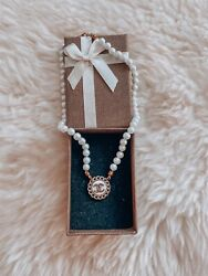 AUTHENTIC CHANEL pearl necklace Choker Styled Pinterest Necklace Trend Coco