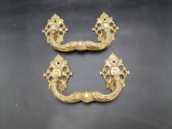 Pairs Of Antique French Bronze Handles Chest Of Drawers