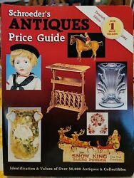 Schroeder's Antiques Price Guide Paperback 2002 Identify/value Collectibles