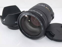 Sigma Ex Zoom 17-50mm 12.8 Ex Dc Hsm Andoslash77 Lens For Camera With Box Made In Japan