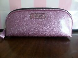 New with tags Victoria Secret cosmetic bag color sparkling pink $12.00