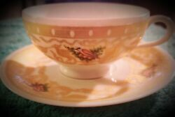 Vintage Tea Cup And Saucer Rare Venezia Pauly . C.andnbsp Set Of 12