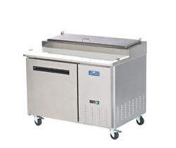Arctic Air App48r 48 Stainless Steel Pizza Prep Table / Cooler