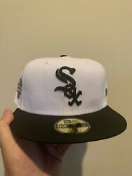 59fifty Fitted Chicago White Sox 05 Series 2 Tone Green Brim Not Hat Club 7 3/4