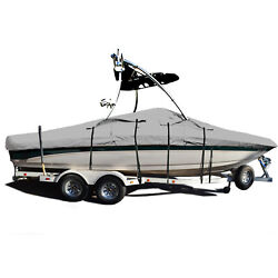 Sanger Dx Ii With Wakeboard Tower Trailerable Storage Fishing Ski Boat Cover