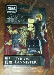 Mega Construx Game Of Thrones Black Series 15pc Tyrion Lannister 1.5 Figure