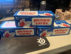 1984 Topps Vending Box 500 Picture Cards Out Of Unopened Case Perfect Condition